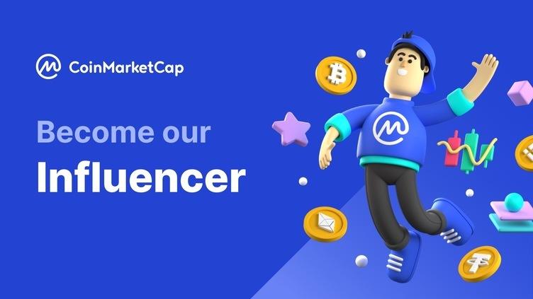 Become an Official CoinMarketCap Influencer(KOL)